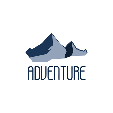wild life: Mountain adventure and expedition logo badges collections. Wild life travel emblems vector