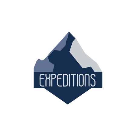 wild life: Mountain adventure and expedition logo badges collections. Wild life travel emblems vector EPS10 Illustration