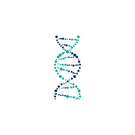 polymerase: DNA cell vector Illustration