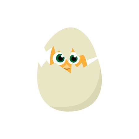 Easter eggs chicks. Easter background vector eps10