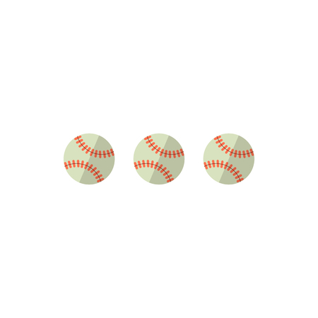 Baseballs vector illustration Illustration