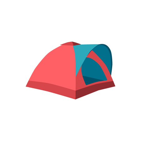 Set of tourist tents. Collection of camping tent icons. Vector illustration eps10 Stock Vector - 126304106
