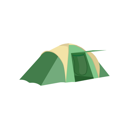Set of tourist tents. Collection of camping tent icons. Vector illustration eps10 Stock Vector - 115111520