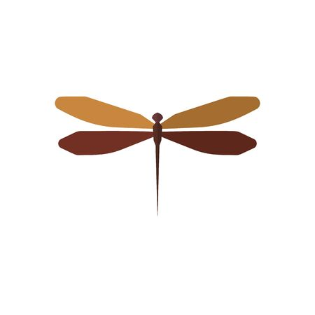 Insect icon in flat style isolated on white background. Vector illustration