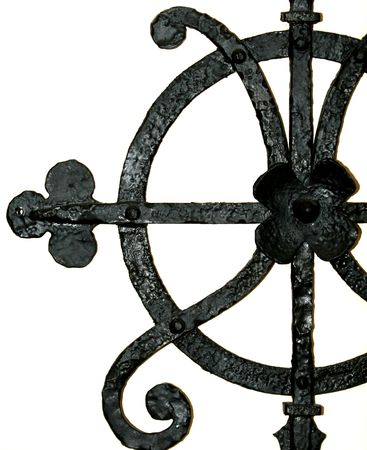 wrought iron detail Imagens - 406652