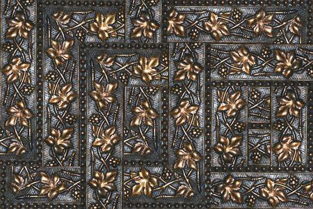 composite: Grapevine antiguo marco detalle compuesto
