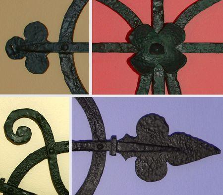 composite: hierro forjado compuesto detalle