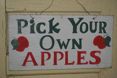 vintage sign Stockfoto