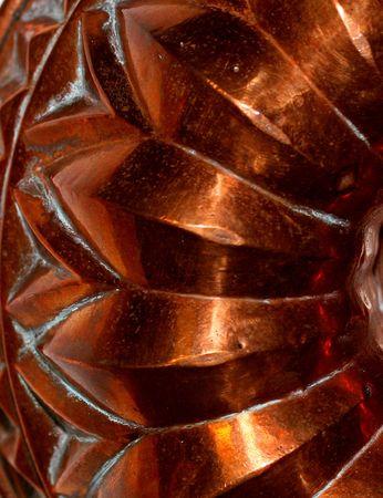 antique copper mould photo