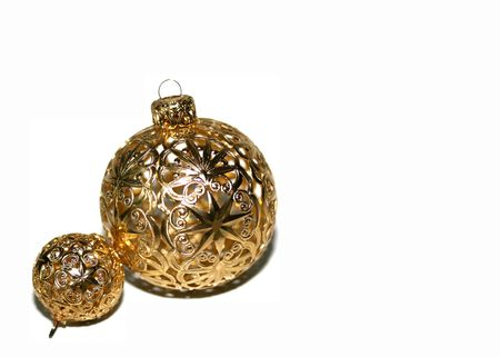 filagree: christmas ornaments