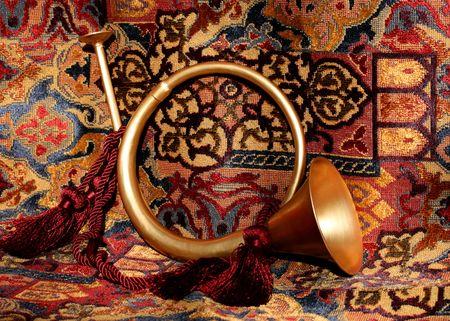 decorative/festive horn Stock Photo - 516001