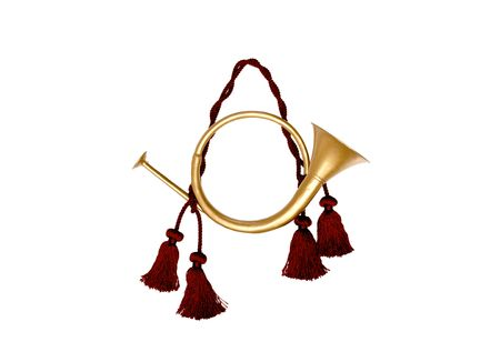 decorative/festive horn Stock Photo - 516000