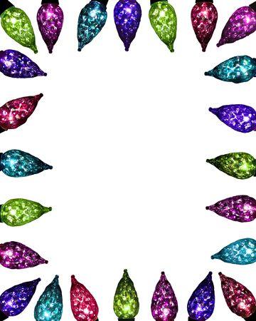 festive facet lights - jewel tones photo