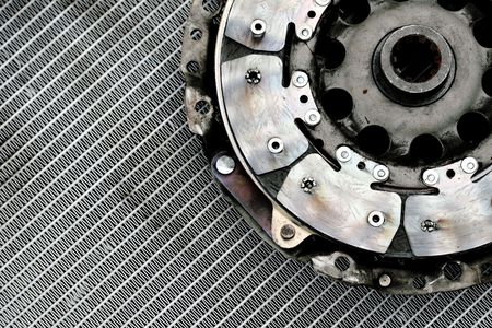 used auto parts abstract Stock Photo