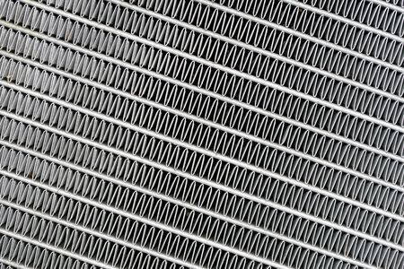 aluminum: car radiator abstract background pattern Stock Photo