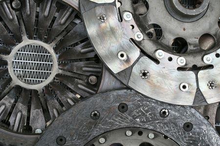 auto parts abstract - neutral version Stockfoto