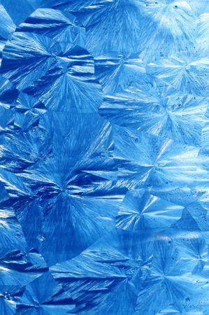 jack frost: patrones del hielo del extracto de la helada de gato Foto de archivo