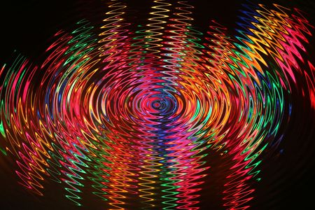 bold, bright abstract based on multi-coloured festive lights image Stock Photo - 2225321