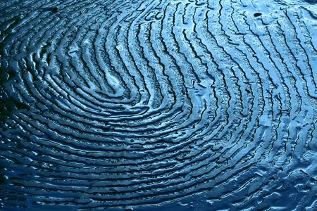 unusual pattern that resembles a fingerprint 스톡 콘텐츠