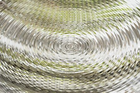 vintage ridged glass with an abstract twist Stock Photo