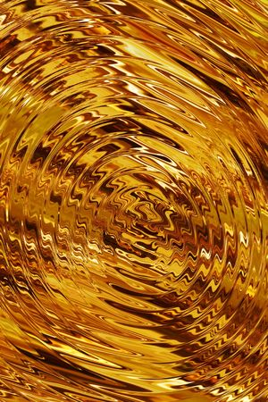 molten tawny gold abstract