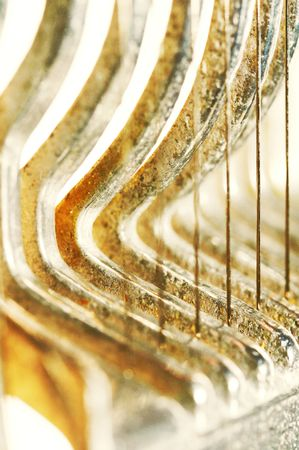 wire & metal abstract background photo
