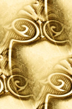 antique silver design abstract Stock Photo