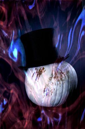 unearthly: Halloween ghost pumpkin