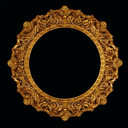 ornate picture or mirror frame Stock Photo