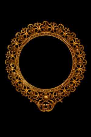 tarnish: ornate mirror or picture frame