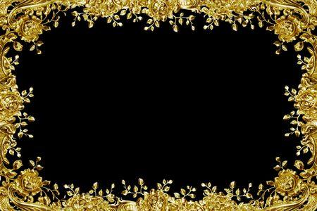 bordure vigne: antique motif floral argent comme image  Banque d'images