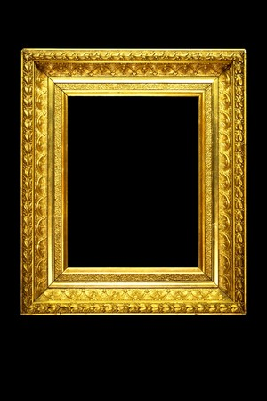 mirror frame: ornate picture or mirror frame Stock Photo