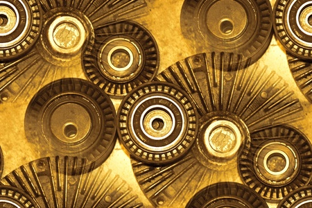 auto parts abstract: fan clutch, tensionerstension pulleys