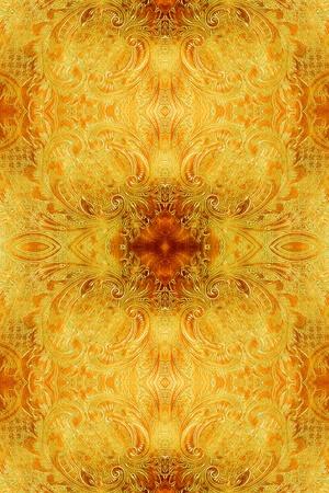 burnished: intricate antique design background