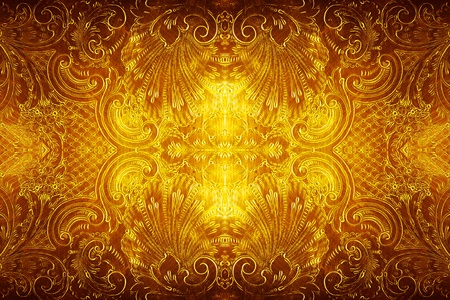 victorian wallpaper: antique metal design background Stock Photo