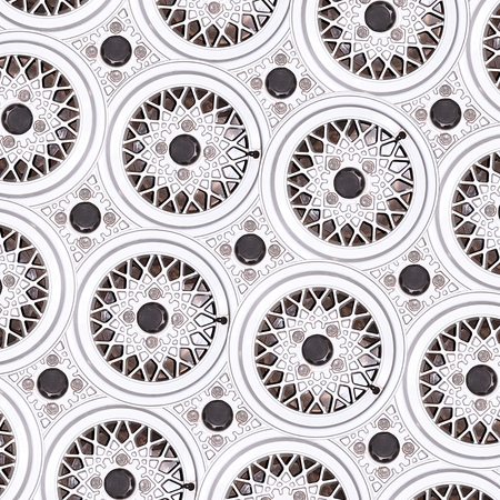 car wheel rim pattern as abstract background photo