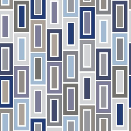 Vector Blue Brown Beige Gray Purple Squares Seamless Repeat Pattern