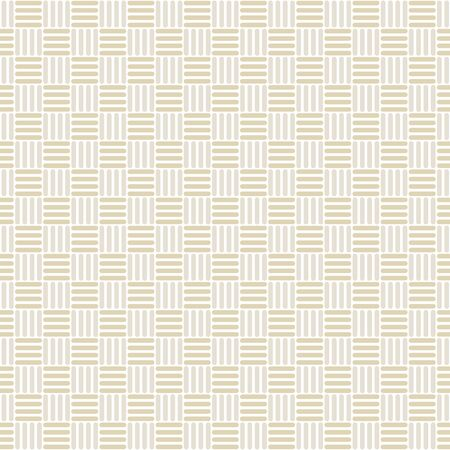 Vector Abstract Basket Weave Design in Yellow on White Seamless Repeat Pattern. Background for textiles, cards, manufacturing, wallpapers, print, gift wrap and scrapbooking.