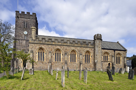 All Saints Church, Dulverton, Exmoor, Somerset Stock Photo