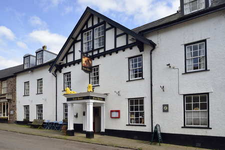 exmoor: Lion Hotel, Dulverton, Exmoor, Somerset Birthplace of the Exmoor Pony Society