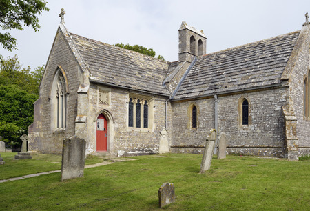 13th century St Mary?s Church, Tyneham, DorsetTyneham was commandeered by the war office n 1943 for military training and was never returned to the villagers. The church has been restored