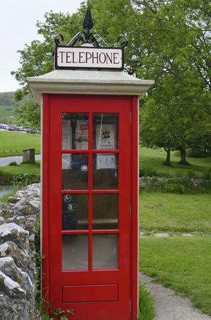 wartime: Restored Wartime Telephone Kiosk, Tyneham, Dorset