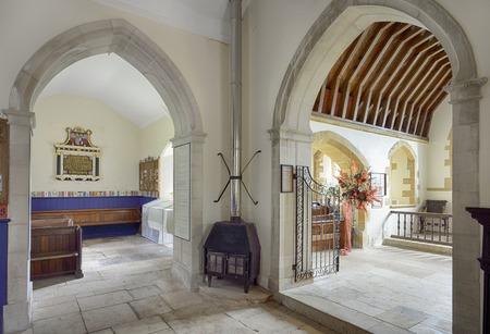 restored: 13th century St Mary?s Church, Tyneham, DorsetTyneham was commandeered by the war office n 1943 for military training and was never returned to the villagers. The church has been restored and is now a museum of the village history and the villagers Editorial