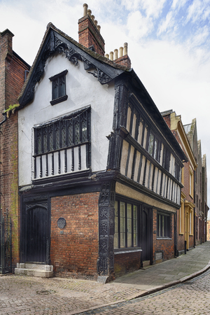 restored: The Cottage, 22 Bayley Lane, CoventryEarly 16th century grade II listed building Editorial
