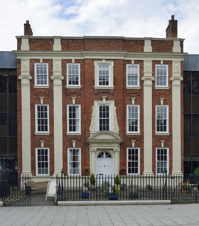 restored: Kirby House, 16 Little Park Street, Coventry18th century grade II listed Georgian Townhouse