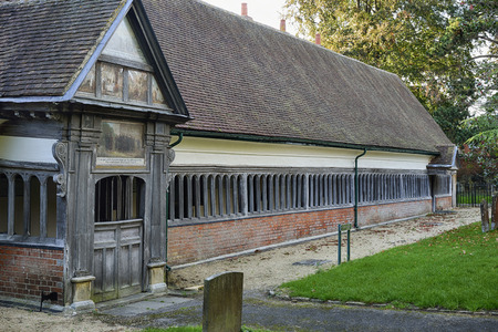 almshouse: Long Alley Almshouse, St Helens, Abingdon; OxfordshireBuilt 1446 Editorial