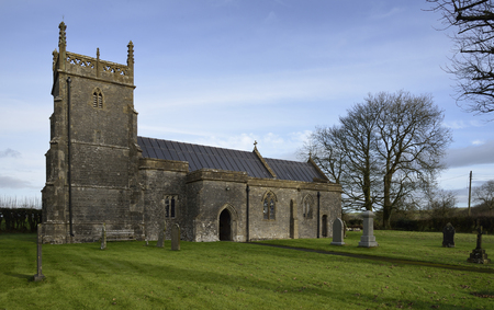 St Laurence Parish Church, Priddy, Somerset 13th Ceentury grade I listed