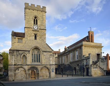 St Nicolas Church & Guild Hall, Bridge Street, Abingdon