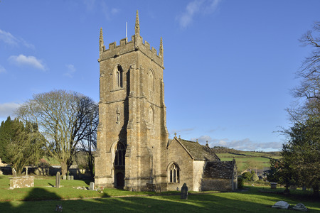 St Peter and St Paul Church, Charlton Horethorne, South Somerset14th century with 15th century TowerGrade II listed Editorial