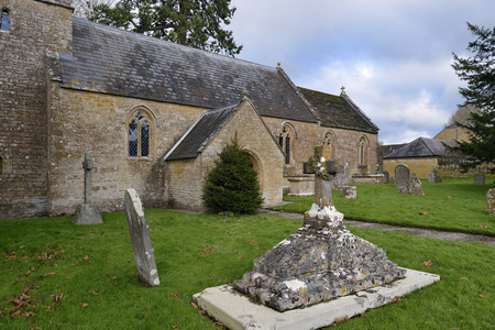 St Michaels Church, Blackford, South Somerset Grade II listed from 11th to 14th century Stock Photo